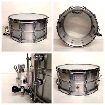"""Echo Custom Drums 14"""" x 7"""" Aluminium Snare"""