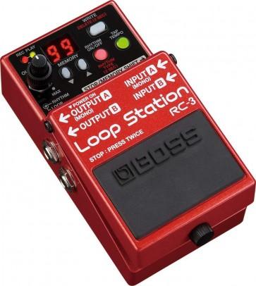 Boss RC-3 Compact Looper Guitar Pedal