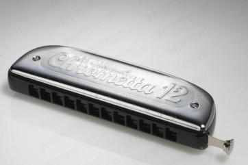Hohner Chrometta 12 Harmonica - C Major (Chromatic)