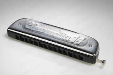 Hohner Chrometta 14 Harmonica - C Major (Chromatic)