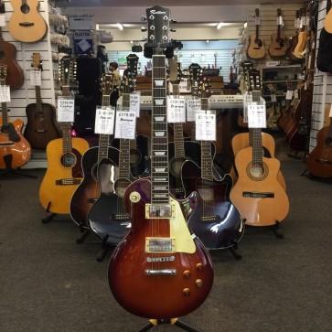 PRE-OWNED: Rockburn Les Paul Copy Electric Guitar- Sunburst