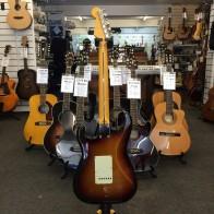 PRE-OWNED: Fender Classic '58 Reissue Stratocaster MIJ - Sunburst