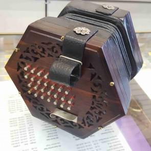 Wheatstone 56 key english concertina