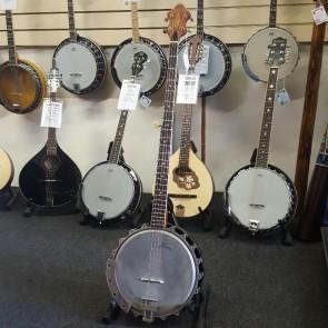 PRE-OWNED: Framus Long Scale 5 String Banjo, Made 1960s