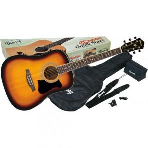 Ibanez V50NJP-VS Acoustic Guitar Jam Pack