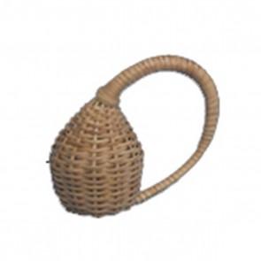 Kambala Caxixi Hooked Handle