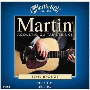 Martin Acoustic Guitar Strings 80/20 Bronze - Medium .013 - .056