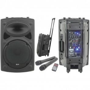 QTX QR12PA Portable PA - Rechargeable