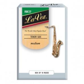 Rico La Voz Tenor Saxophone Reeds (10 Pack)