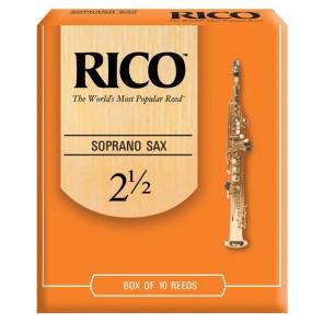 Rico Orange Soprano Saxophone Reed (Singles) - All Strengths