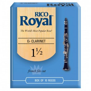 Rico Royal Eb Clarinet Reeds (10 Pack)