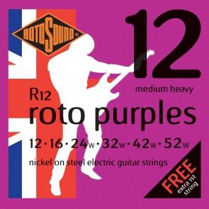 Rotosound 'Roto Purples' Guitar Strings - Medium Heavy