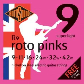 Rotosound Roto Pinks - Super Light .009 - .042w (R9)