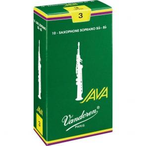 Vandoren Java Green Soprano Saxophone Reeds (10 Pack)