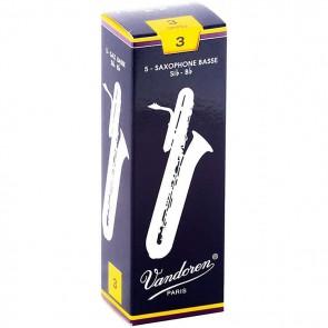 Vandoren Traditional Bass Saxophone Reeds (5 Pack)
