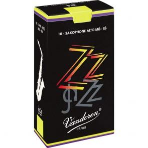 Vandoren ZZ Jazz Alto Saxophone Reed (Singles) - All Strengths