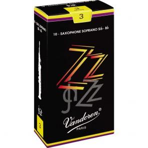 Vandoren ZZ Jazz Soprano Saxophone Reeds (10 Pack)