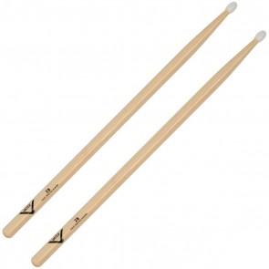 Vater 2B Nylon Tip American Hickory Drum Sticks (VH2BN)