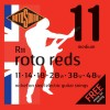 Rotosound 'Roto Reds' Guitar Strings - Medium .011 - .048w (R11)