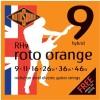 Rotosound 'Roto Orange' Guitar Strings - Hybrid .009 - .046w (RH9)